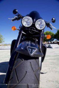Prueba Triumph Rocket X 2015