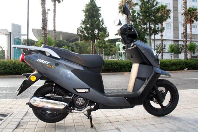 pruebas de scooters Daelim Dart NC125