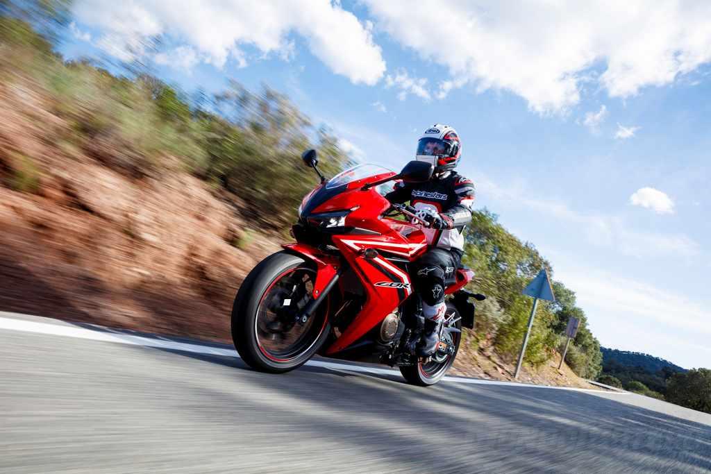 Velocidad maxima Honda CBR500R
