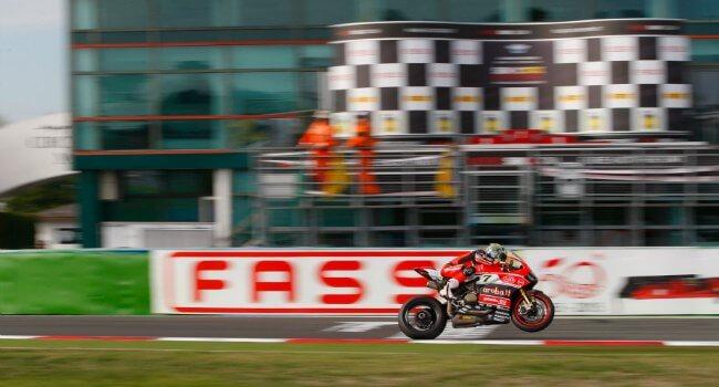 SBK 2015 Ducati Chaz Davies