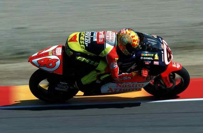 Valentino Rossi campeon del mundo 250 cc