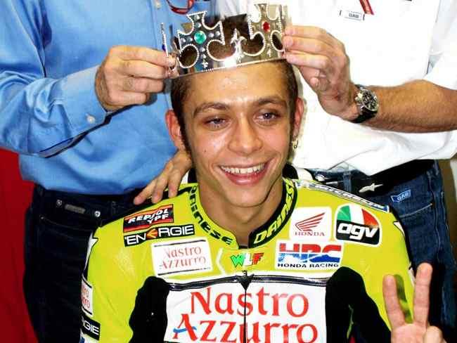 Valentino Rossi campeon del mundo 500cc