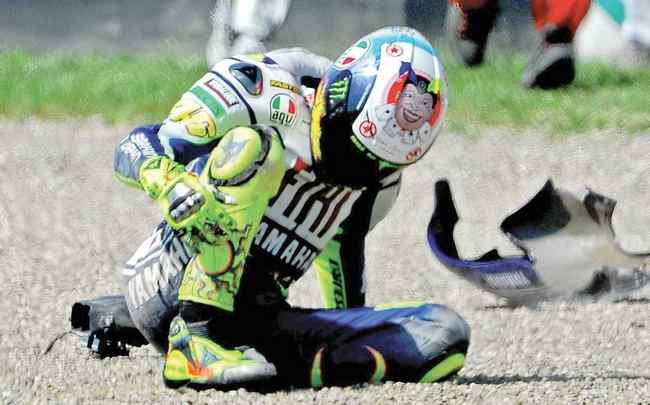Valentino Rossi lesion
