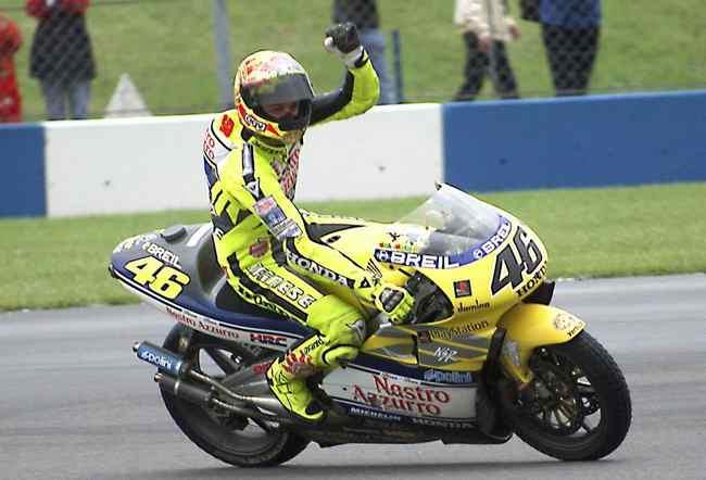 Valentino Rossi titulo de 500cc