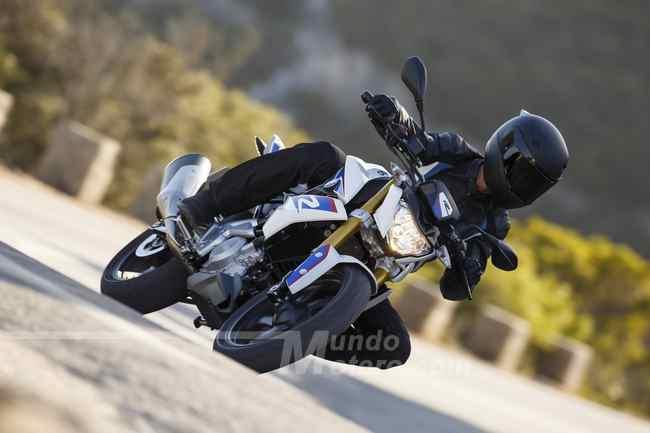 BMW G 310 R velocidad maxima