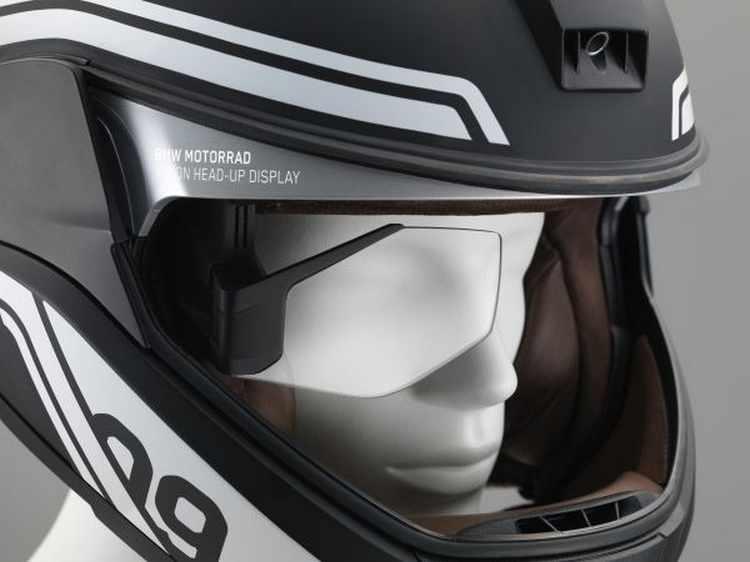 Casco de moto BMW Head-Up Display