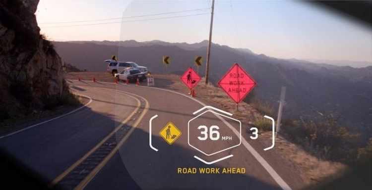 Casco moto BMW Head-Up Display