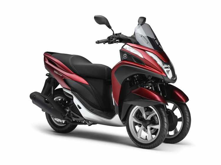 motos de 3 ruedas carnet B Yamaha Tricity 125