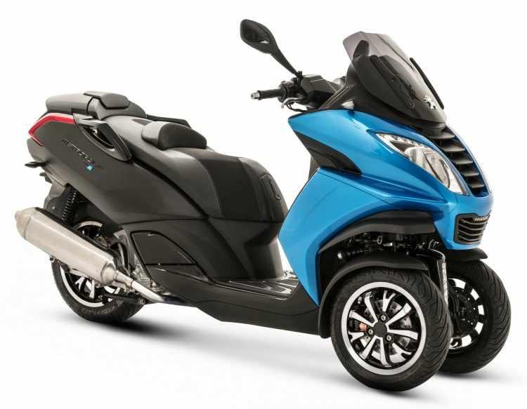 scooter 3 ruedas carnet b Peugeot