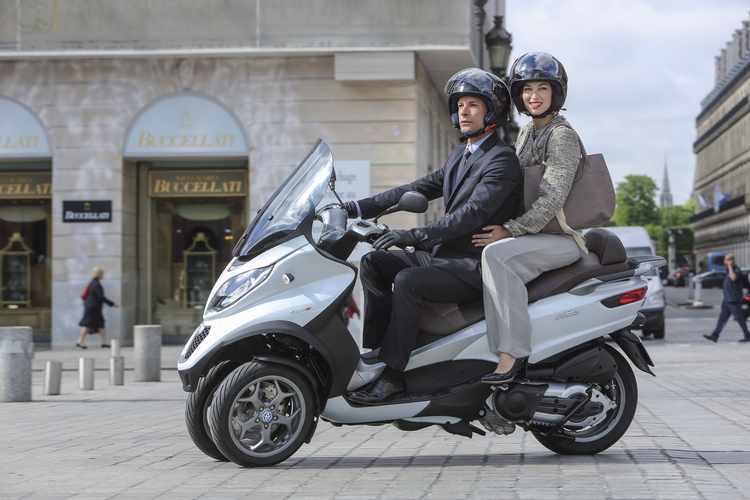 scooters de 3 ruedas Piaggio MP3