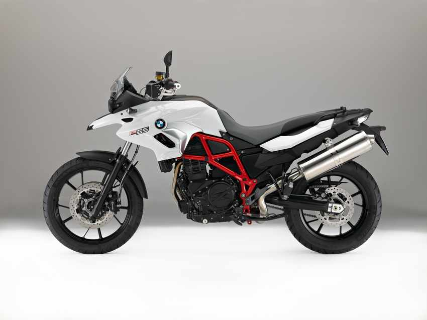 BMW F 700 GS 2016 blanco