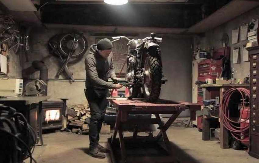Mantenimiento de una moto en invierno