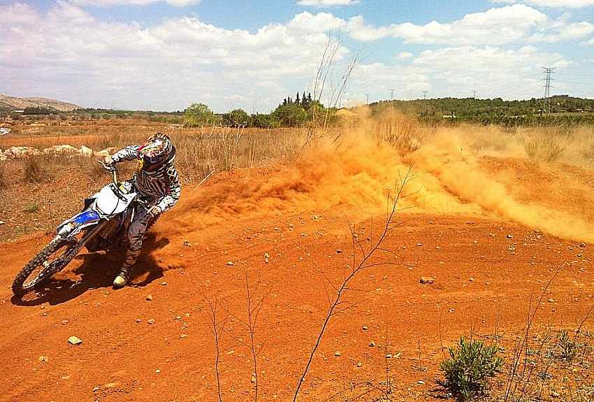 Carlos Galera entrenamientos off road