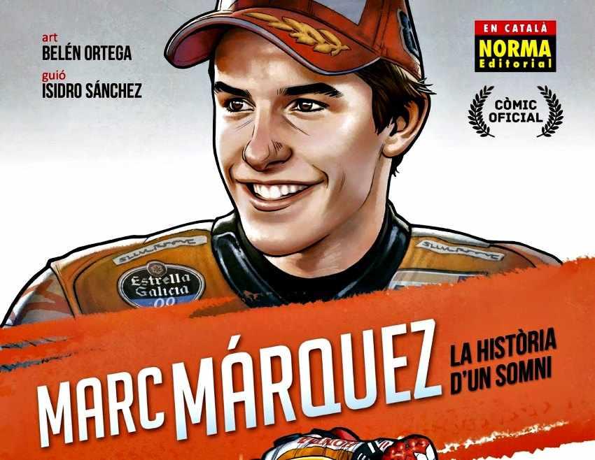 Marc Márquez presenta su propio comic