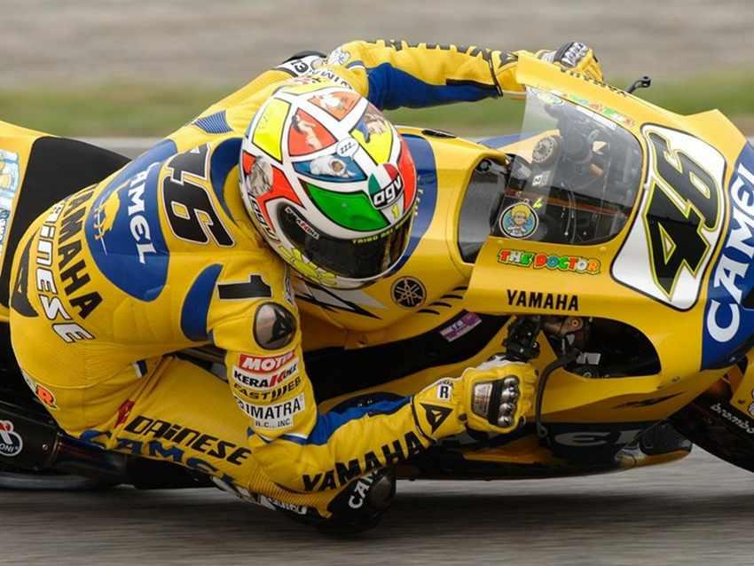 Casco de Valentino Rossi Mugello 2006