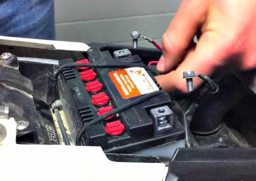 Mantenimiento de baterias de moto