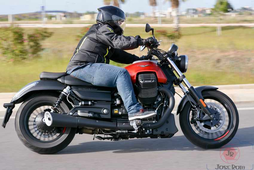 Prueba Moto Guzzi Audace