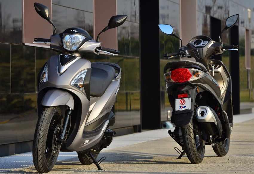 scooter GT SYM Symphony ST 200i CBS
