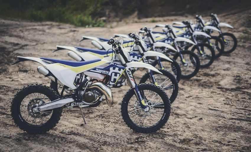 motos Husqvarna enduro 2017