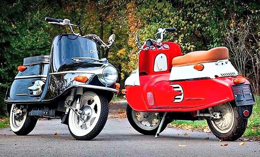 Cezeta 506 Scooter electrico vintage