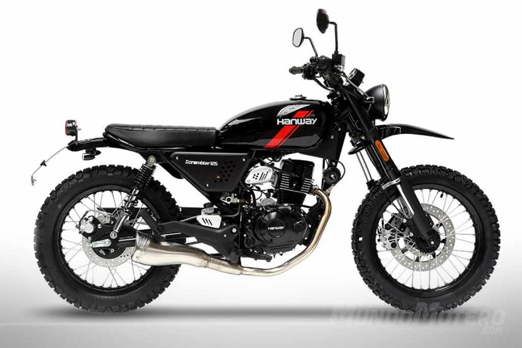 Novedades motos scrambler 125 - Hanway Scrambler 125 2018