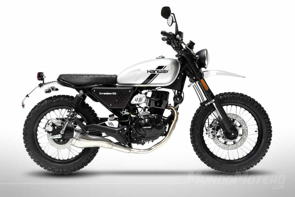 Novedades motos Hanway Scrambler 125 2018