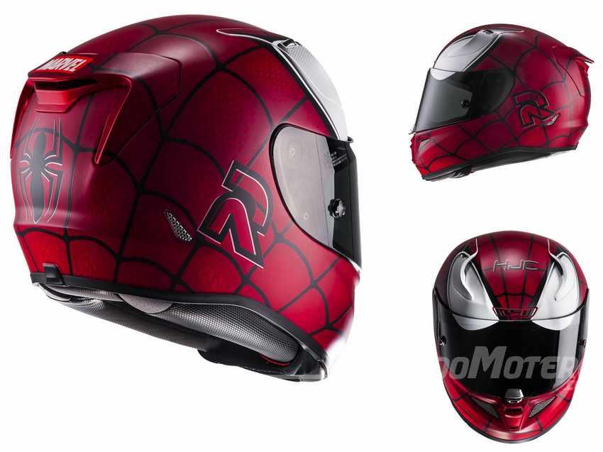 Cascos de moto HJC RPHA 11 Spiderman