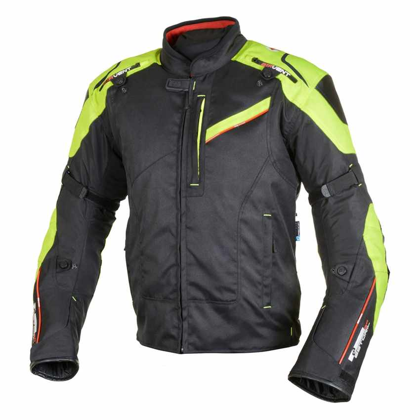 chaqueta de moto impermeable