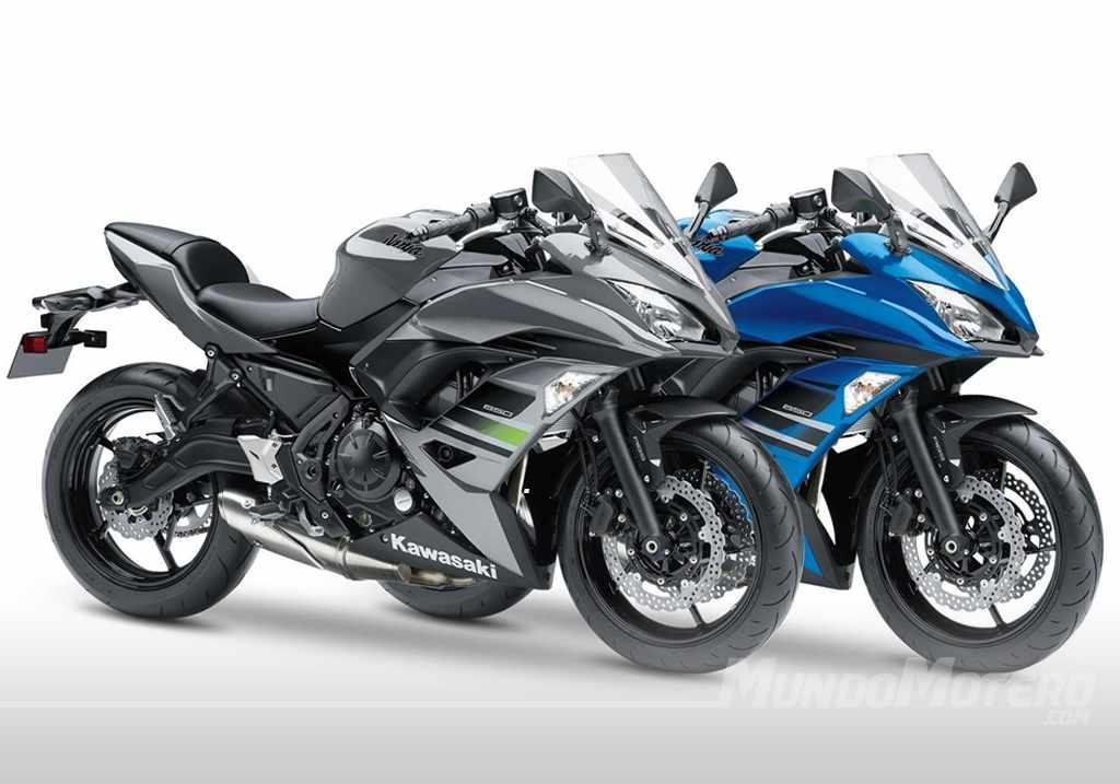Colores Kawasaki Ninja 650 2018