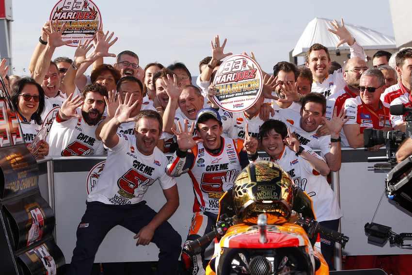 Marc Marquez -Campeón del Mundo de MotoGP 2016
