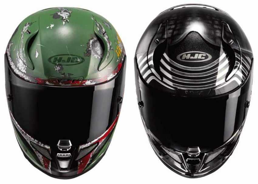 Cascos de moto de Star Wars HJC