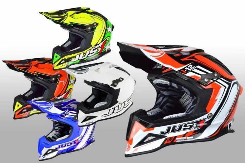 Cascos de moto off-road JUST1
