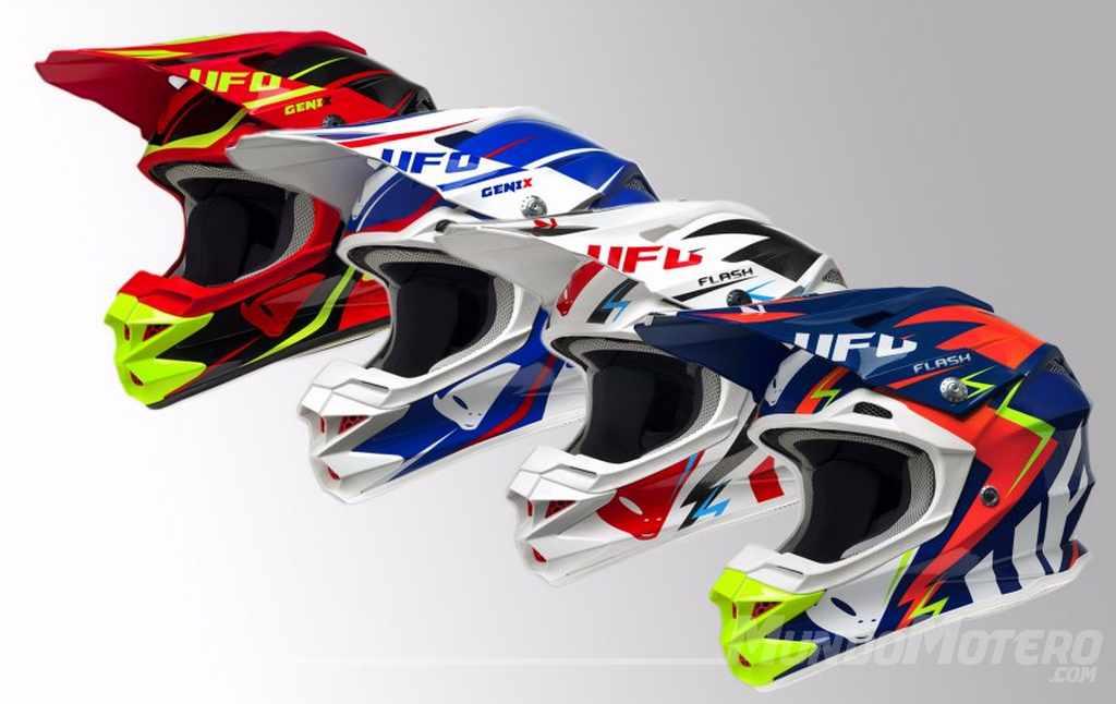 Cascos motocross enduro UFO 2017