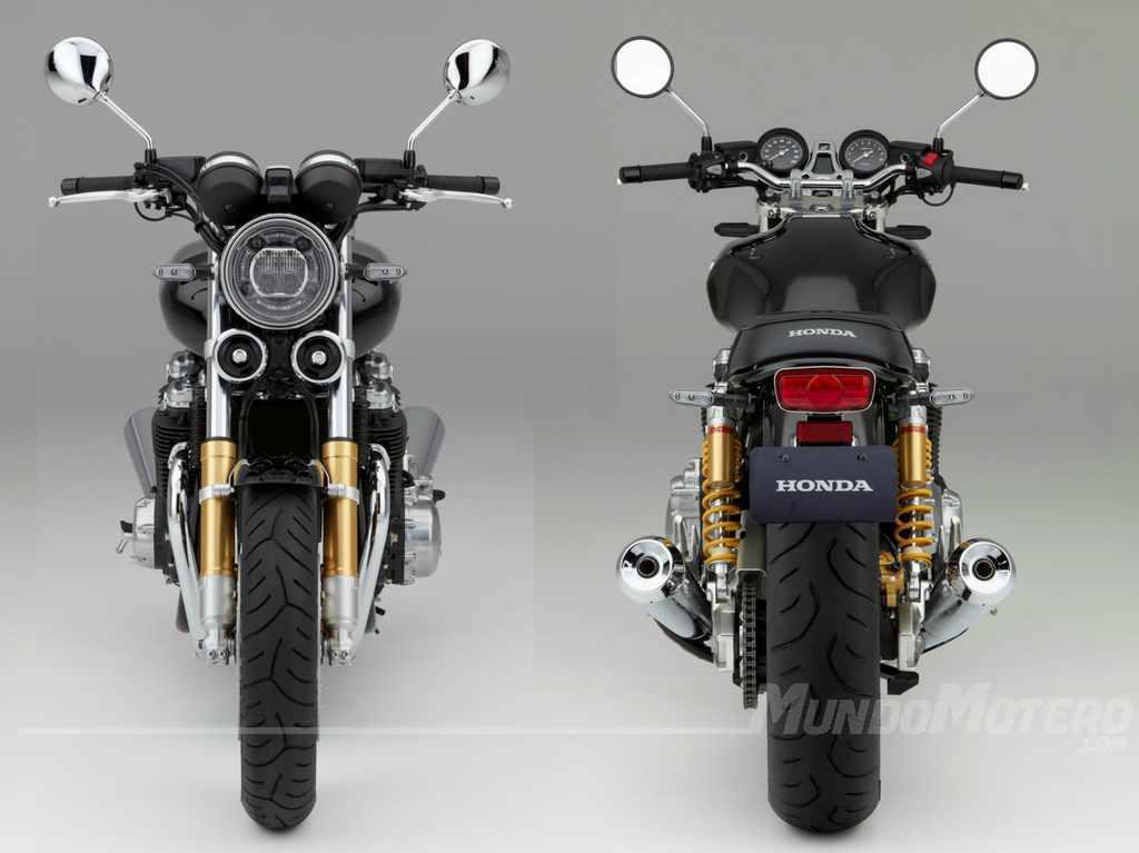 Nueva Honda CB 1100 RS accesorios