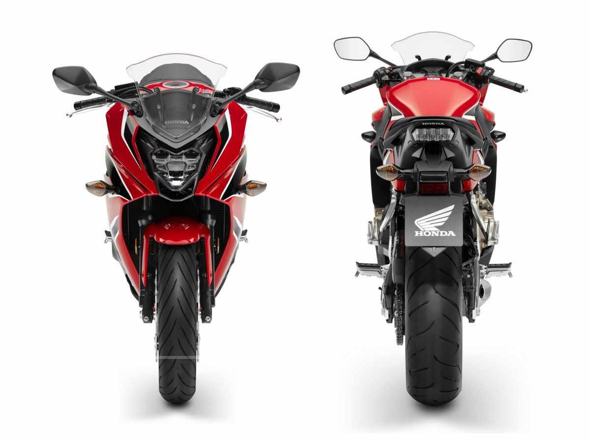 Nueva Honda CBR 650 F