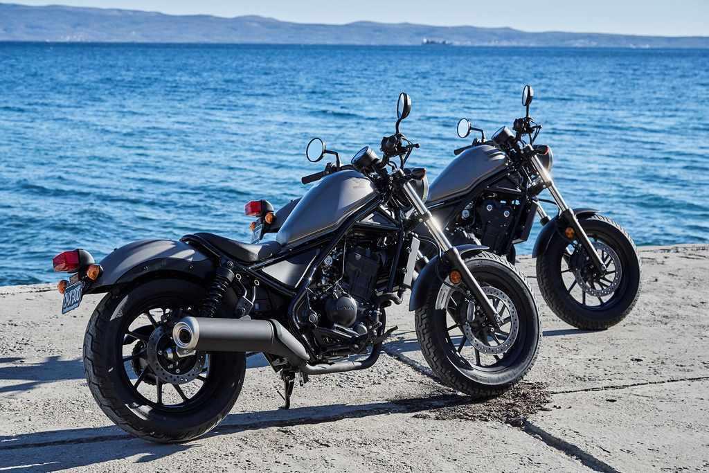 motos custom A2 Honda Rebel CMX500 2017