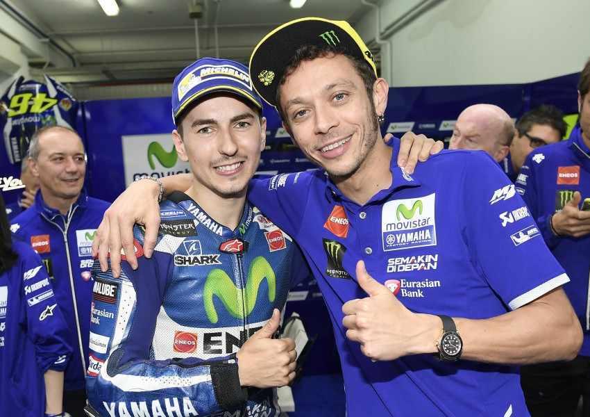 Jorge Lorenzo volverá a coincidir en el seno del Yamaha Factory Racing con Valentino Rossi.