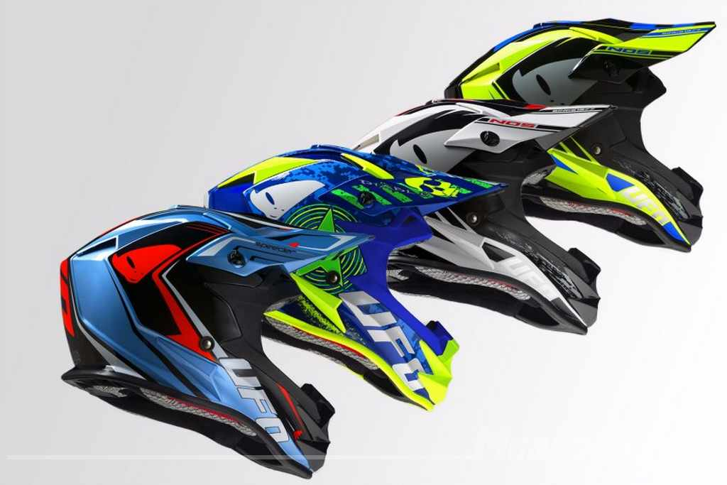 cascos de moto offroad UFO 2017