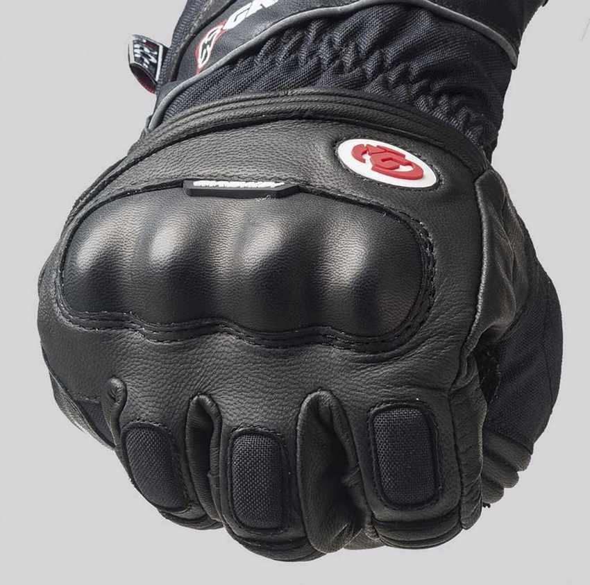Guantes de invierno deportivos para moto