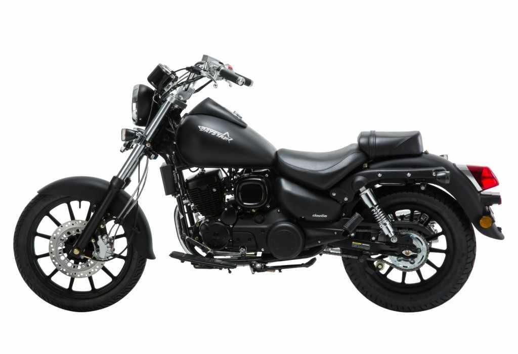 Novedades motos custom Daelim DAYSTAR 125 2018