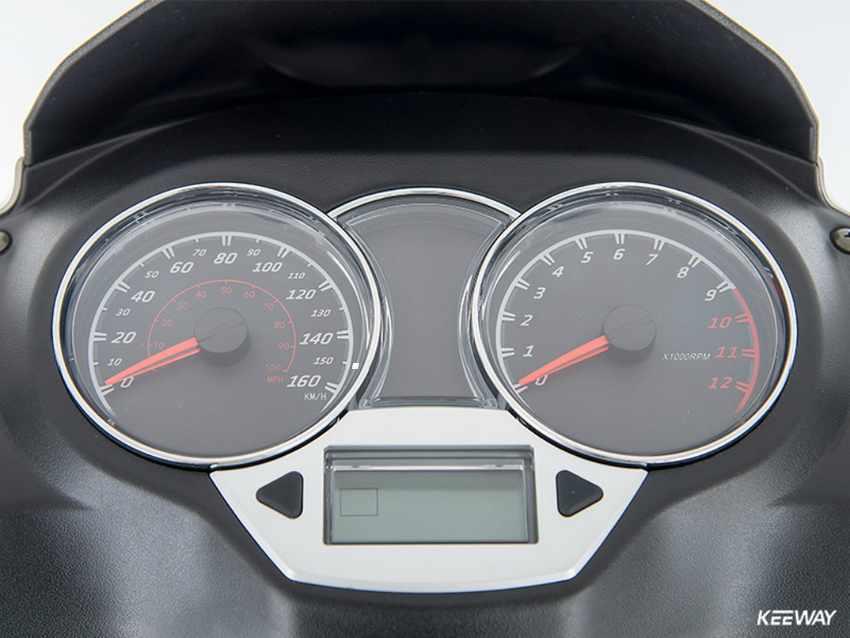 Scooter rueda alta Keeway Logik 125 2018
