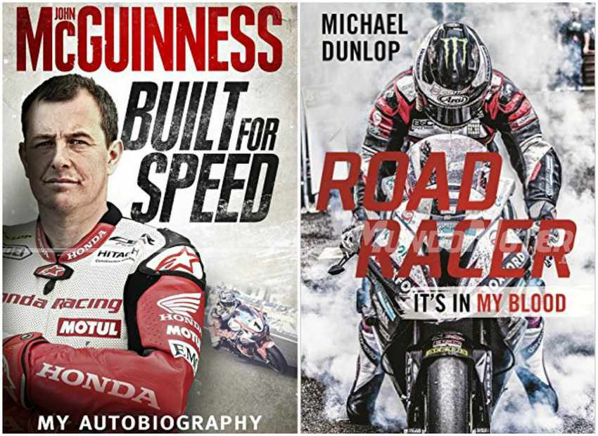 Libros sobre el TT Isla de Man - John McGuinness y Michael Dunlop