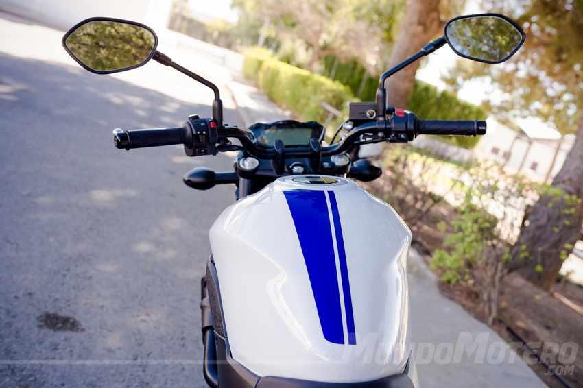 Prueba Suzuki SV 650