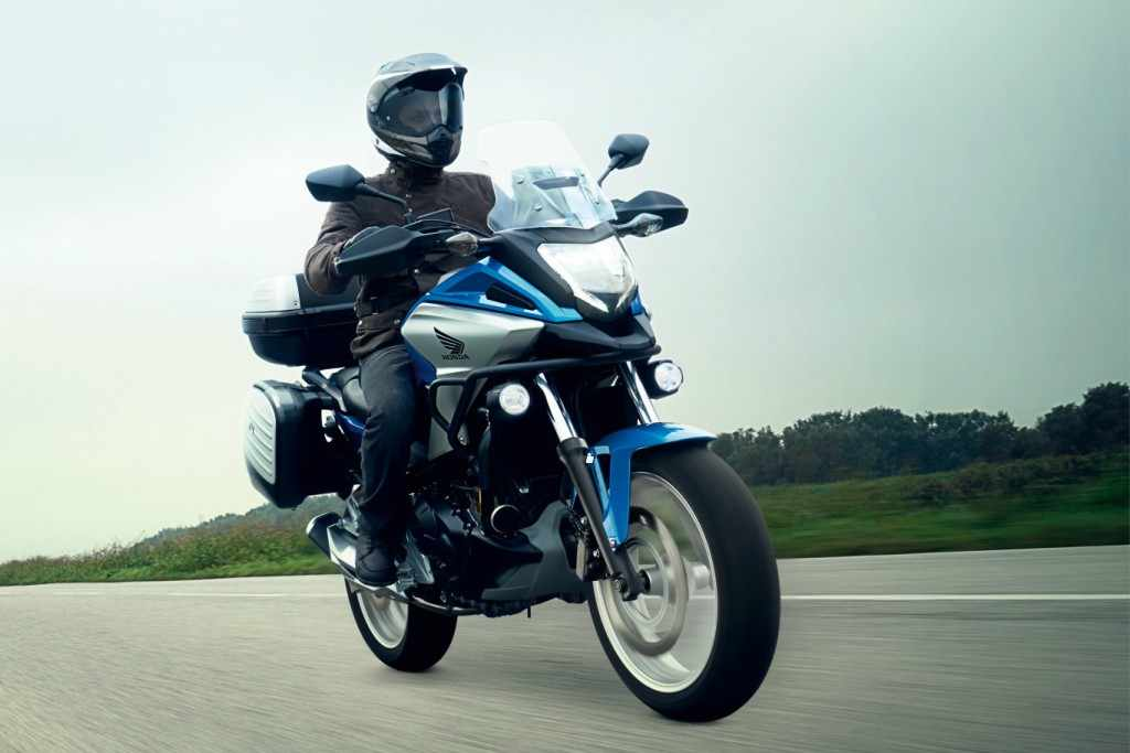 Novedades Motos Trail Honda NC750X 2018