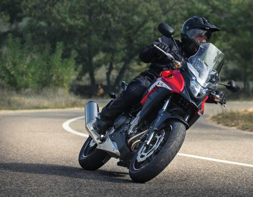 Honda CB 500 X 2017 prueba