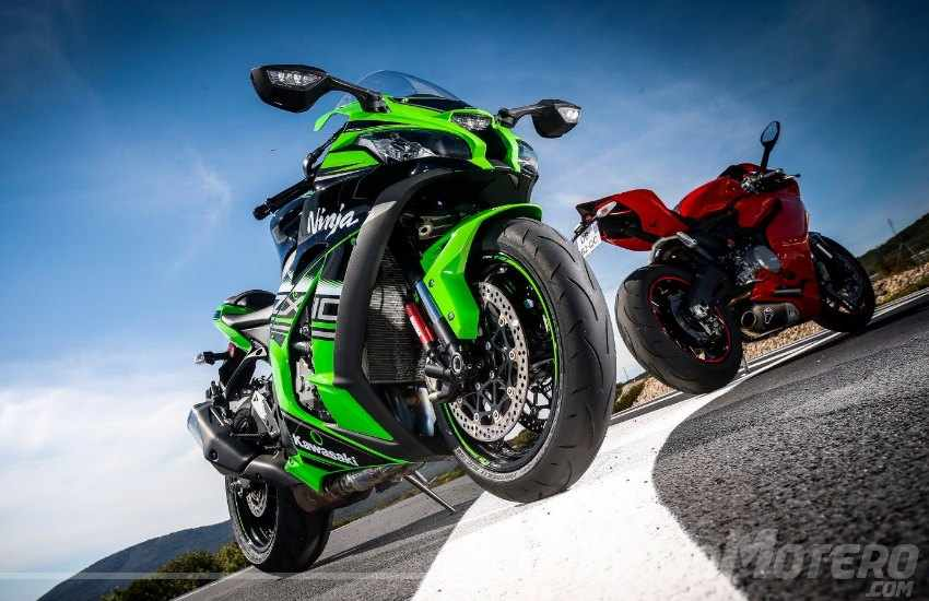 Neumaticos Dunlop para motos deportivas