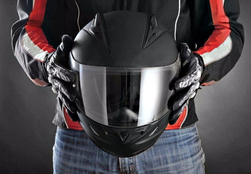 Mantenimiento del casco de moto