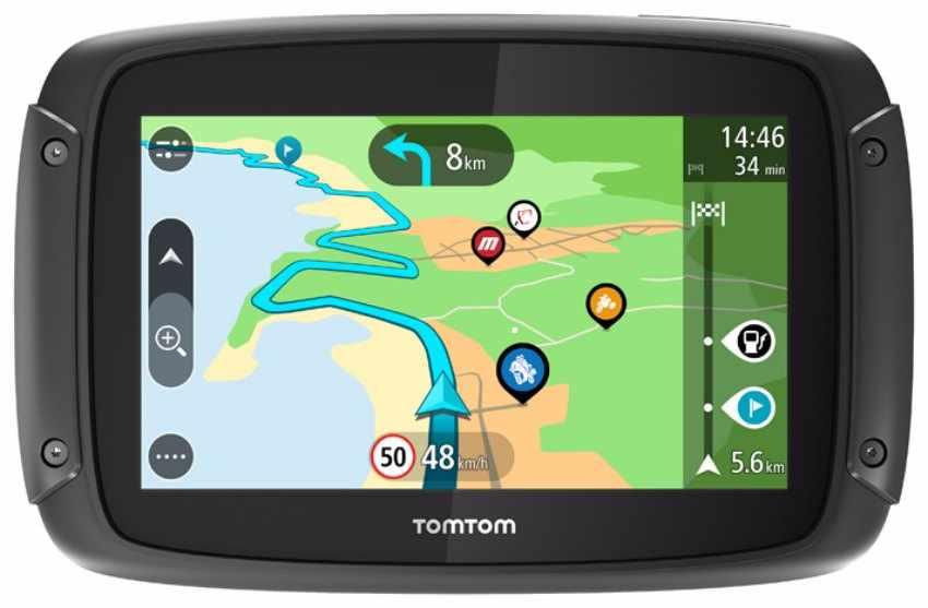 Nuevos navegadores para moto TomTom RIDER
