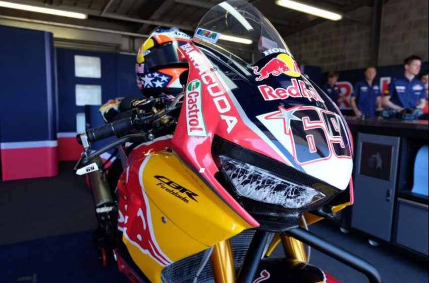 Honda SBK Nicky Hayden