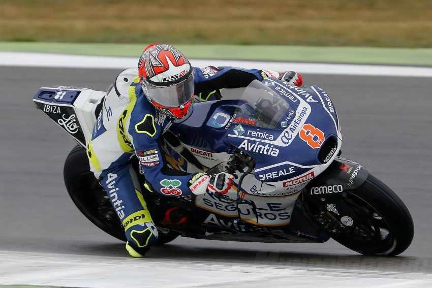 Héctor Barberá ha sido el más rápido en un FP2 pasado por agua en Sachsenring.